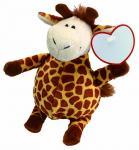 Pluszowa żyrafa RAFFI, brązowy
