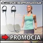 Sportowe słuchawki Bluetooth 4.1 - PAKIET PROMOCYJNY
