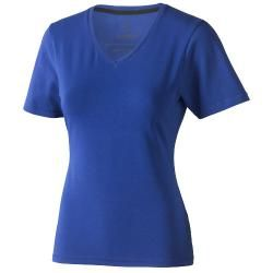 T-shirt Kawartha V-neck damski