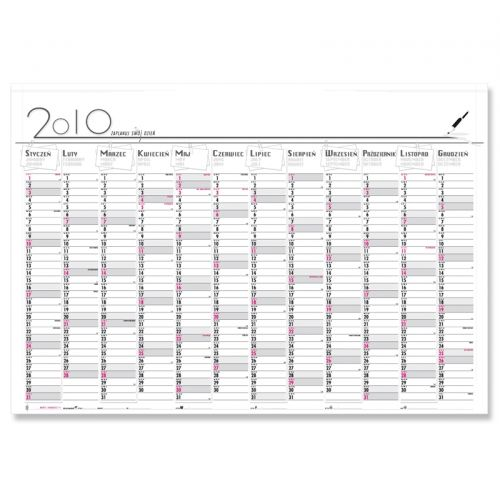 Strona główna » Kalendarze 2010 » Kalendarz 2010 planer B1
