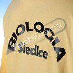 Koszulki dla Wydziału Biologii Akademii Podlaskiej w Siedlcach